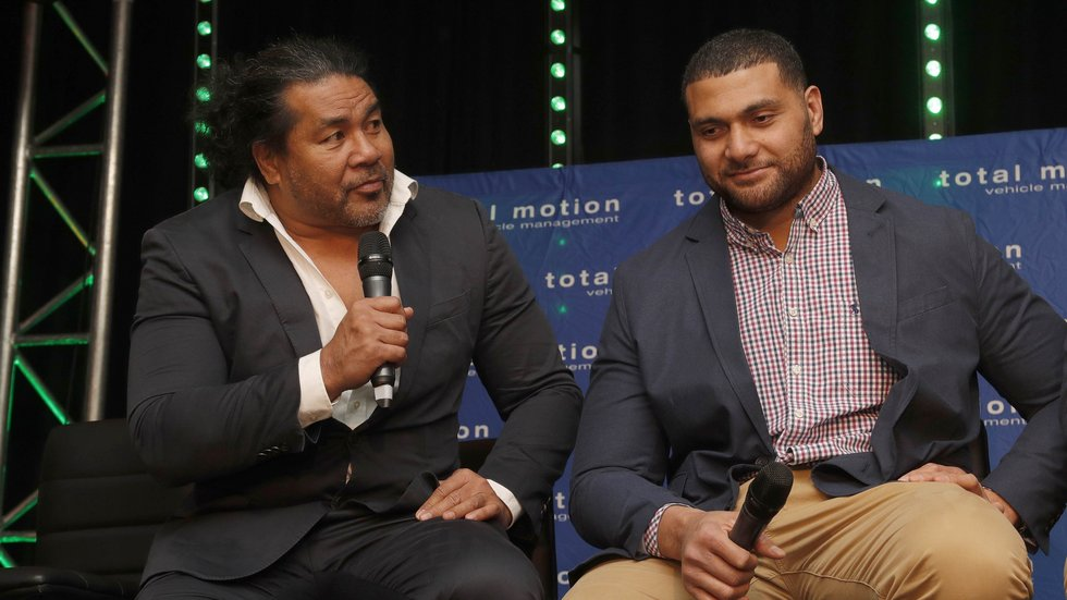 Freddie Tuilagi and Sione Kalamafoni gave a southern-hemisphere focus ahead of the World Cup