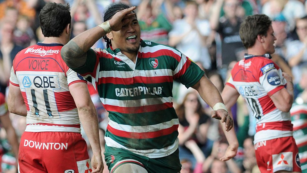 Alesana's hat-trick against Gloucester at Welford Road lives long in the memory