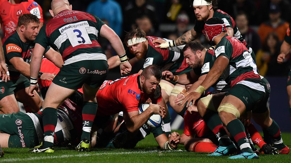 Tigers were pinned back on their own goalline for long periods in the defeat by Ulster on Saturday