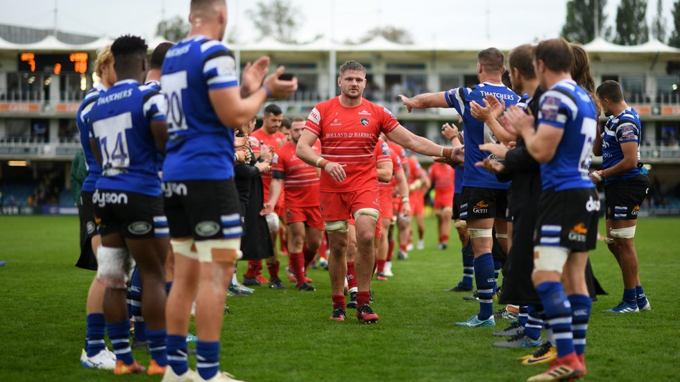 The win at Bath in Round 3 said a lot for the character of the squad, according to Geordan Murphy