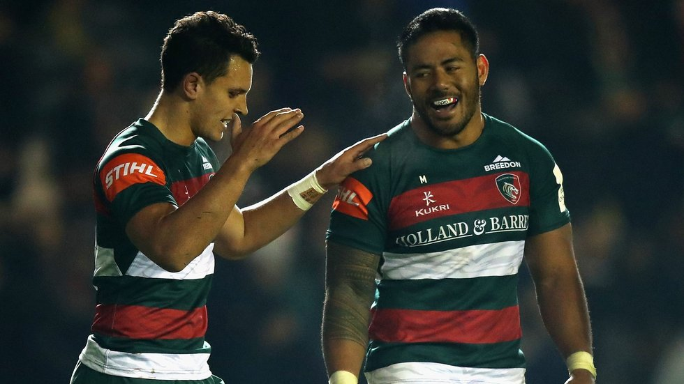 Matt Toomua joins Manu Tuilagi in the Leicester Tigers midfield for the trip to Paris