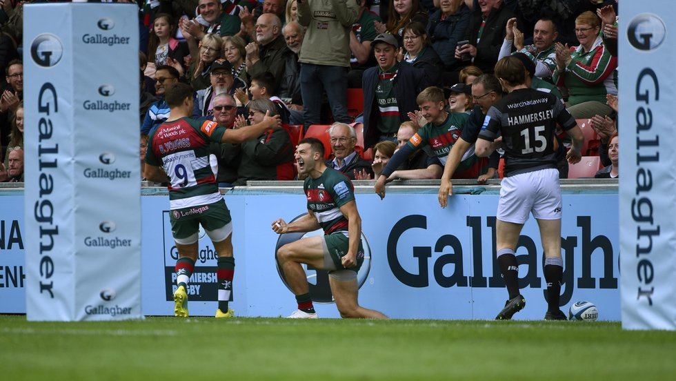 Jonny May's tryscoring form in the early-season period has been a big positive