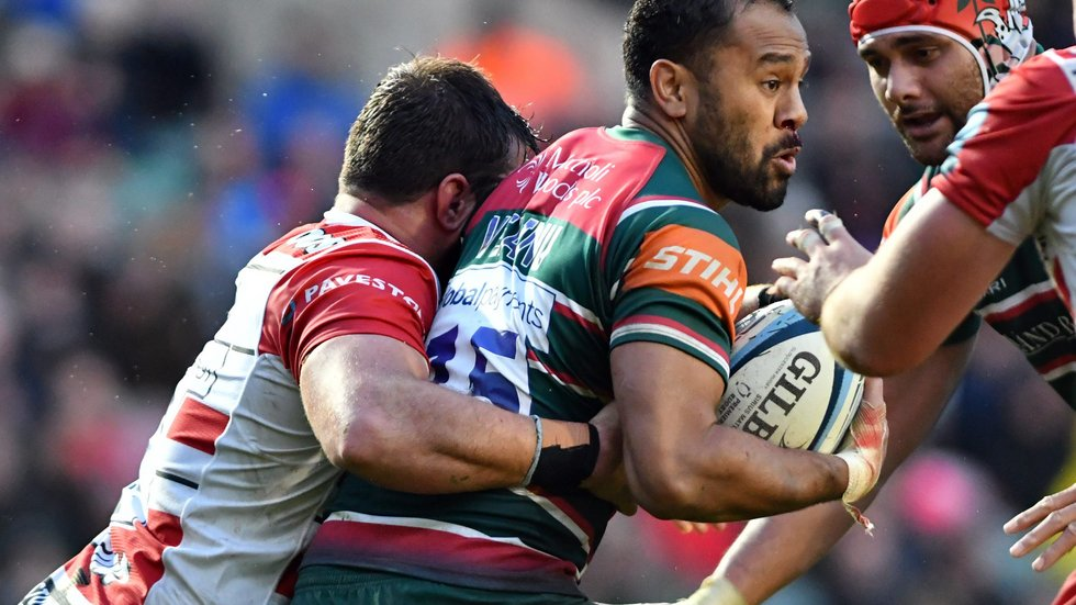 Telusa Veainu is back in the frame following injury in the win over Gloucester