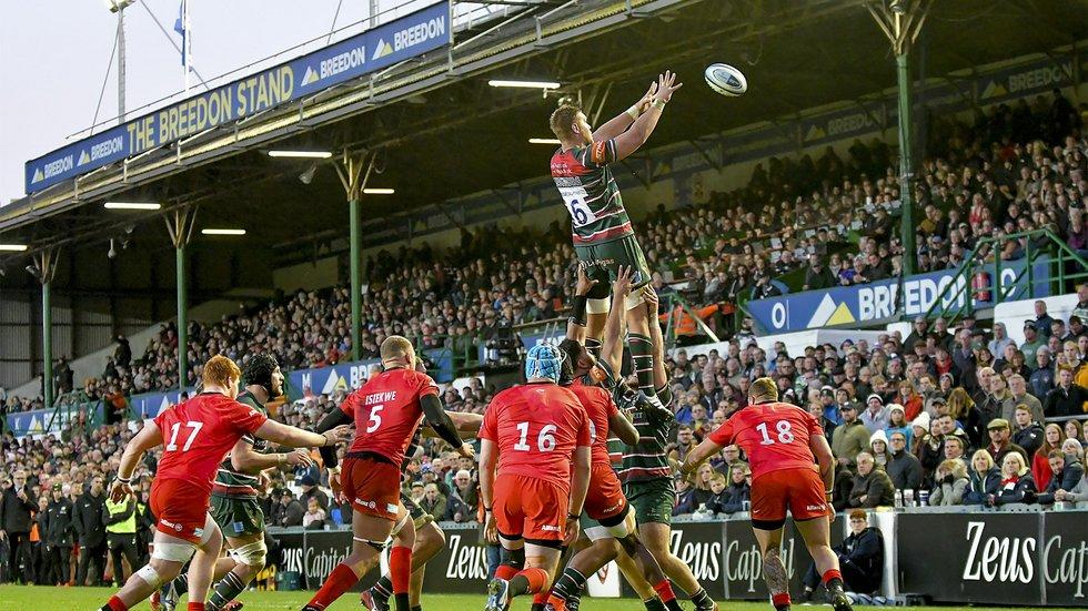 Tigers have five home games at Welford Road in the remaining programme