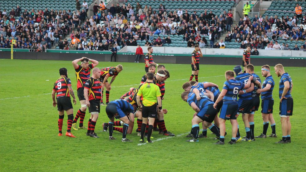 County Cup Final night is a big occasion for the teams who make it through to play at Welford Road