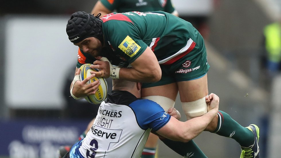 Sione Kalamafoni scored two tries in the second half of the bonus-point win at Twickenham