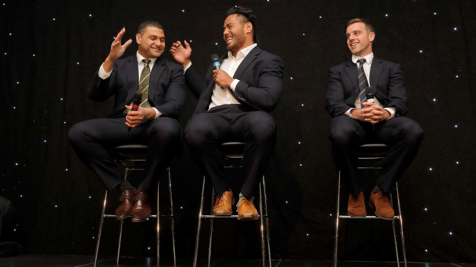 The Supporters Awards night at Welford Road is always a highlight of the year