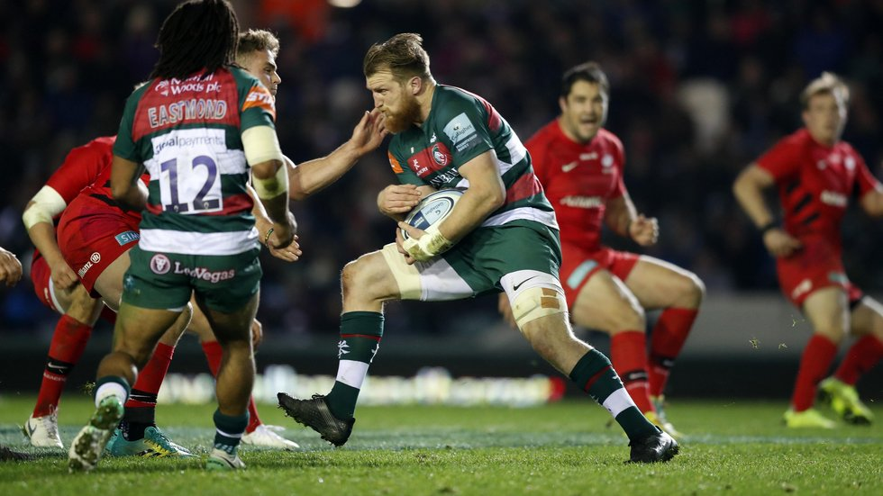 Brendon O'Connor missed out on a possible hat-trick of tries in the home games against Saracens