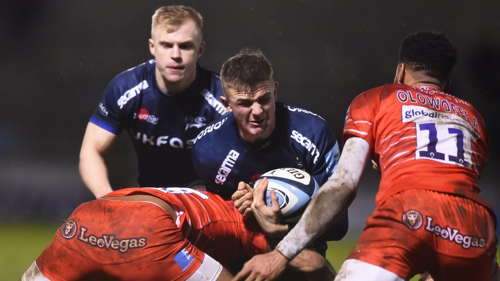 The Sharks won the first meeting of the teams this season at the AJ Bell Stadium