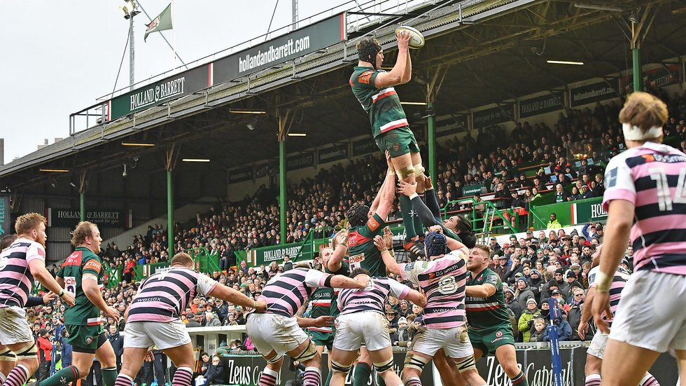 Tigers and the Blues last met in an Anglo-Welsh Cup tie at Welford Road in January