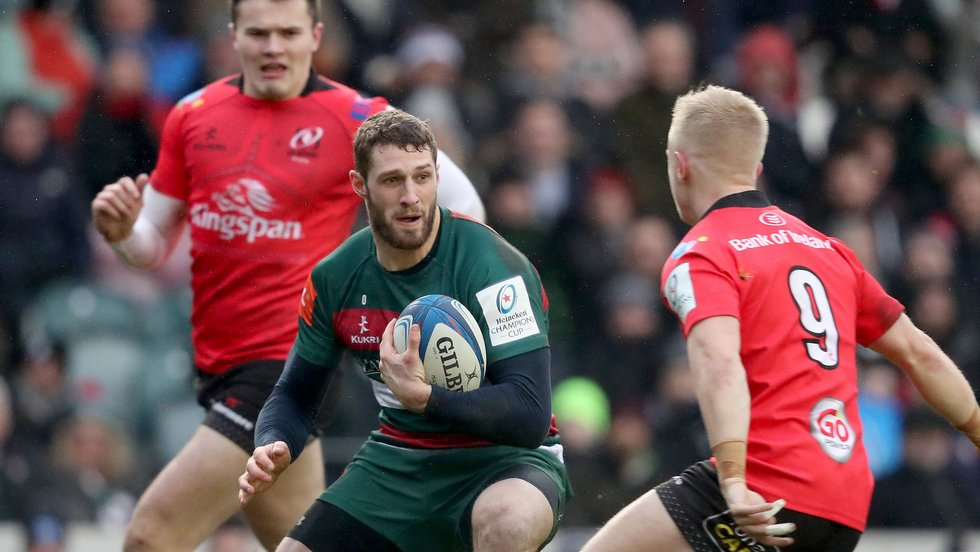 Jonah Holmes is back from international duty after starting the Six Nations with Wales