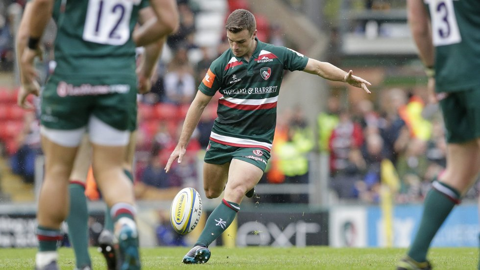George Ford is on the mark with his second drop goal for Tigers, six years and 27 days after his first