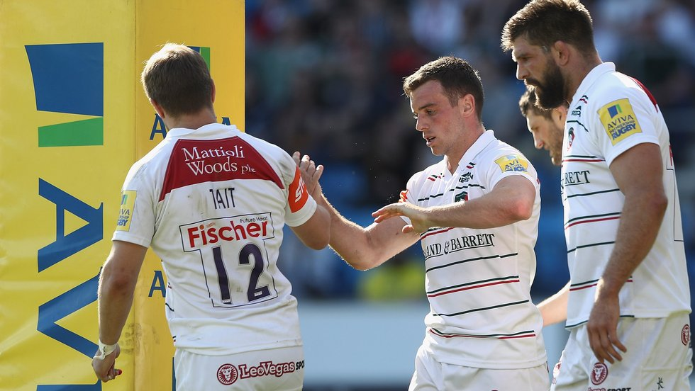 George Ford completed a notable feat in the bonus-point win over Sale Sharks in Round 22