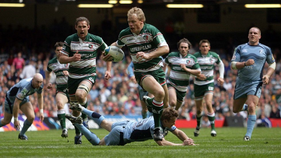 Tigers famously took on Cardiff Blues in professional rugby's first-ever place-kicking competition in 2009.