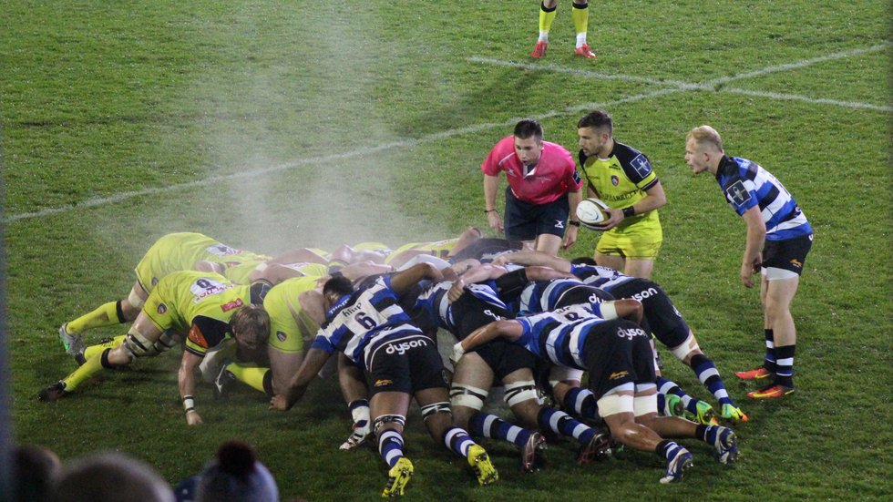 Tigers and Bath also met at The Rec in last year's competition