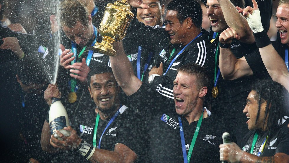 Brad Thorn was at the centre of New Zealand's World Cup victory before joining Tigers