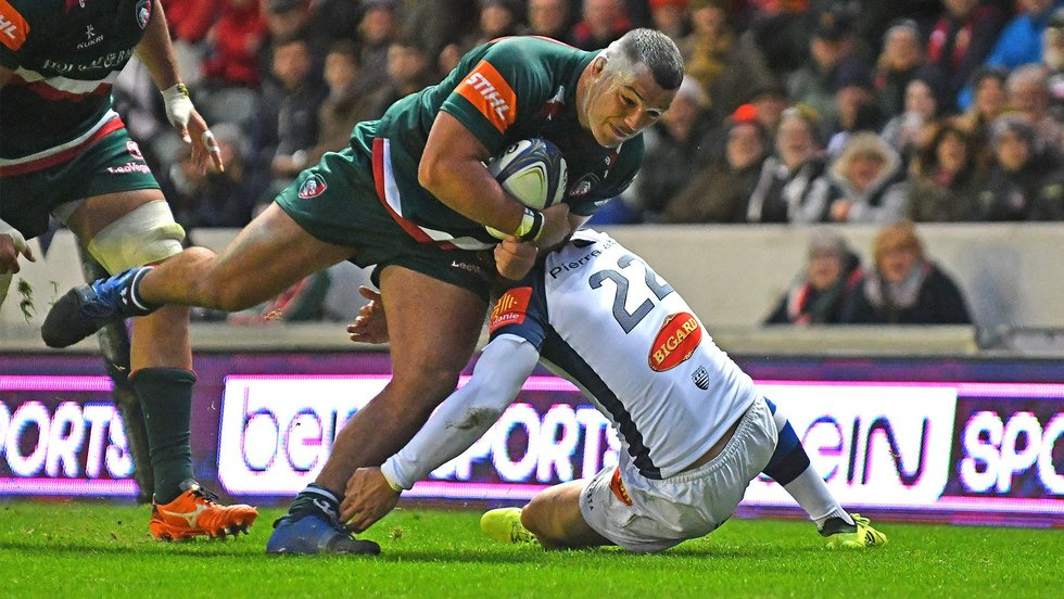 Ellis Genge was in unstoppable form in the win over Castres in the Champions Cup