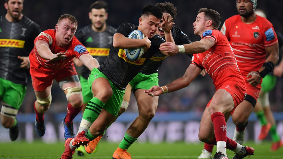 Honours ended even in a draw at Twickenham in the first meeting with Quins this season