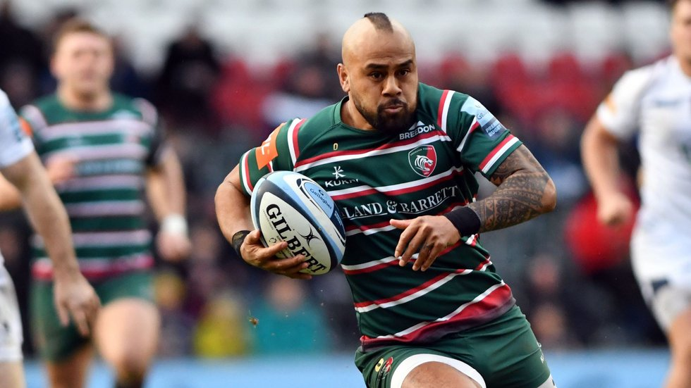 Telusa Veainu has made the fourth-most metres of any player so far this season.