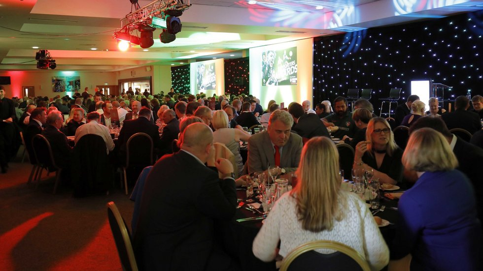 Places are still available to join us for Supporters' Awards Night at Welford Road