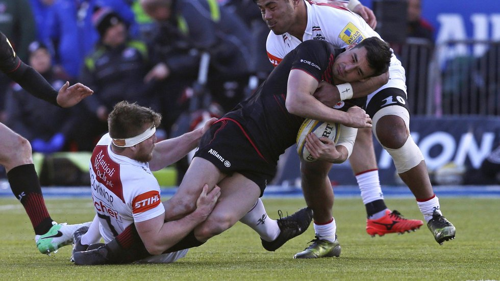 Brendon O'Connor made 15 tackles against Saracens