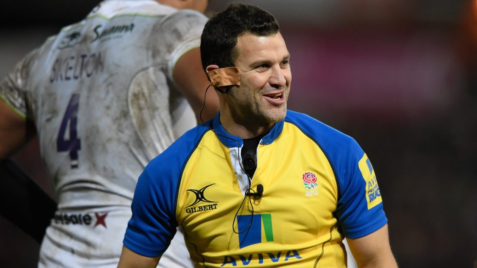 Karl Dickson will referee Tigers against London Irish on Saturday