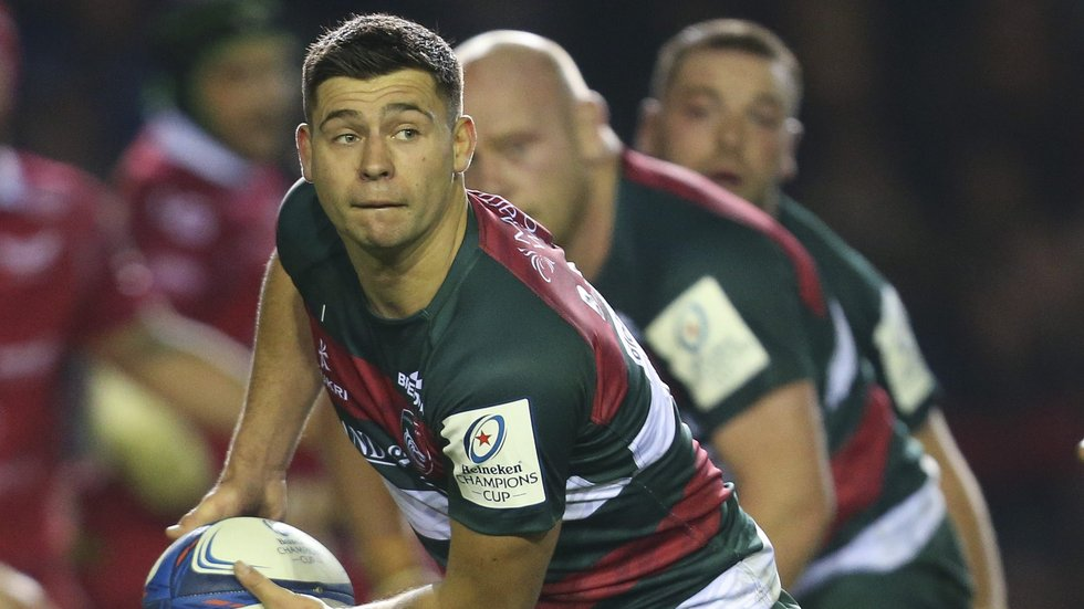 Ben Youngs is one of the six Leicester Tigers players training with England