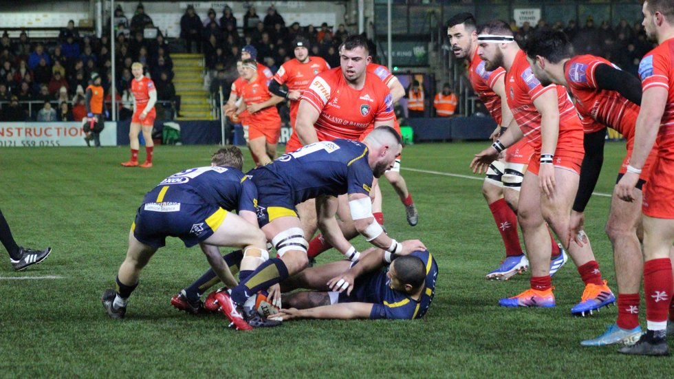 James Whitcombe at the heart of the Tigers defence