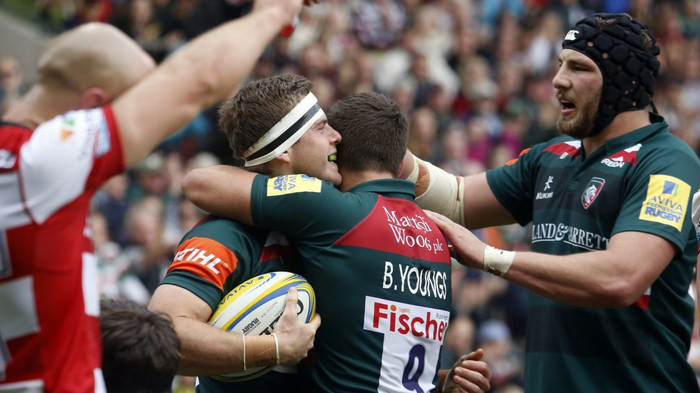 Leicester Tigers Wing Nick Malouf Hopes That His First Try For The Club And A Win Of Season On Saay Can Provide Boost Another Tough Run