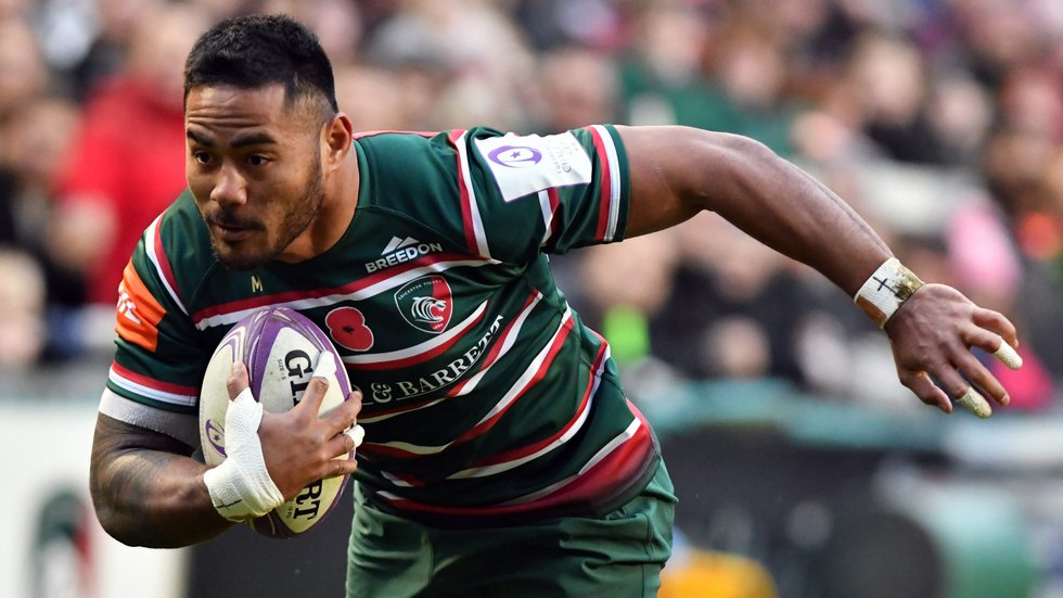 Manu Tuilagi made his first club appearance of the year in the 41-20 win over Pau.