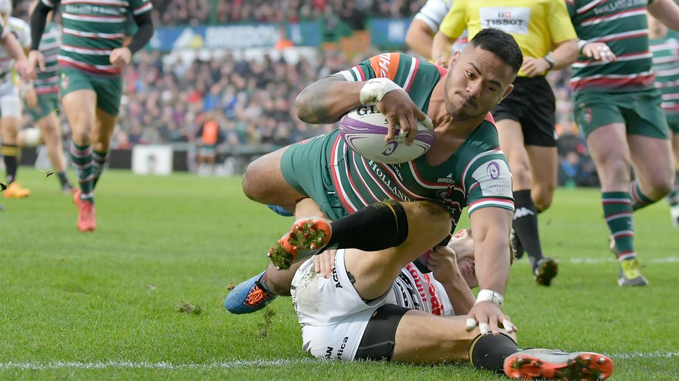Manu Tuilagi will lead out the Tigers in Pau on Saturday
