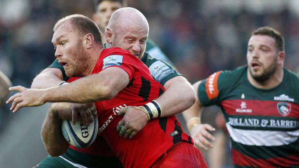 Leicester tighthead Dan Cole made 221 tackles across his 21 Premiership appearances this term.
