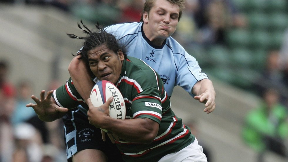 Henry Tuilagi in full flight was a terrifying sight for any defender in world rugby