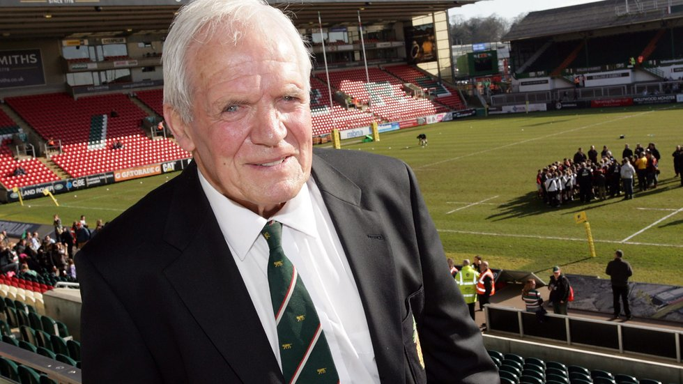 David Matthews began his association with Leicester Tigers back in 1955