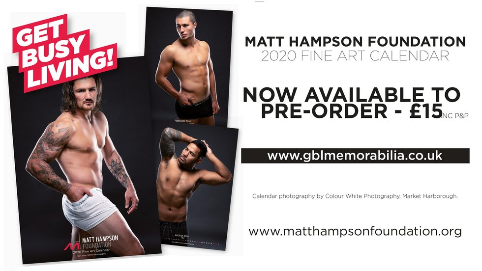 Hambo Calendar Available At Next Two Home Games Leicester Tigers