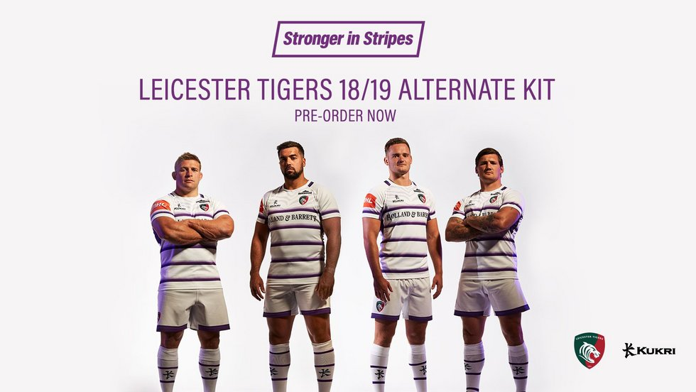 Tigers unveil new 2018/19 kits | Leicester Tigers