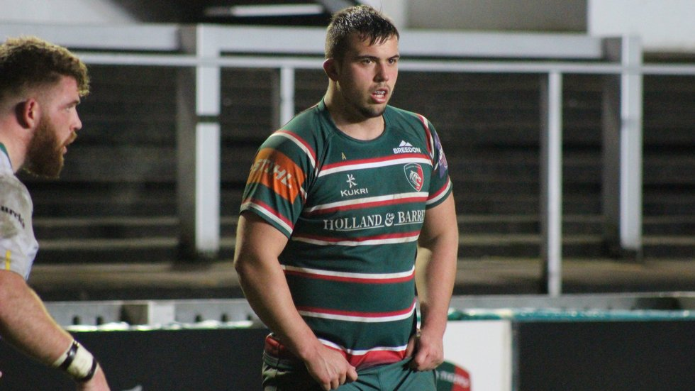 The 19-year-old has played at Welford Road already this season, in the dramatic Premiership Shield tie against Northampton Saints.
