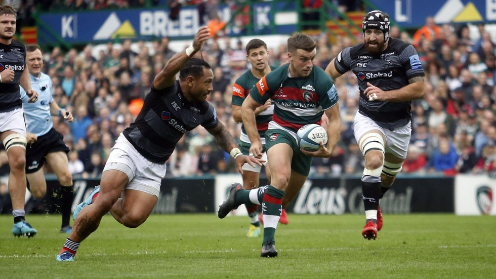 George Ford was back to his running best for Tigers in the Premiership win over Newcastle at Welford Road