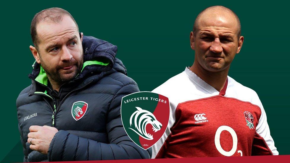 Geordan Murphy [Director of Rugby] & Steve Borthwick [Head Coach]