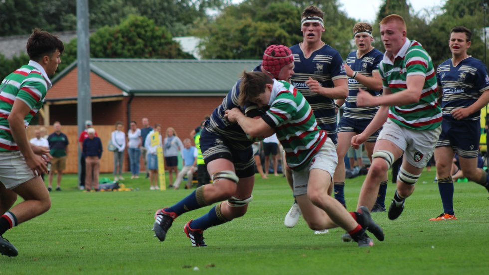 The Tigers Academy defence holds strong against Bristol at Oval Park