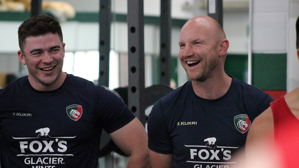 Dave Wilks (right) has played a key role in developing the club's next generation of Tigers