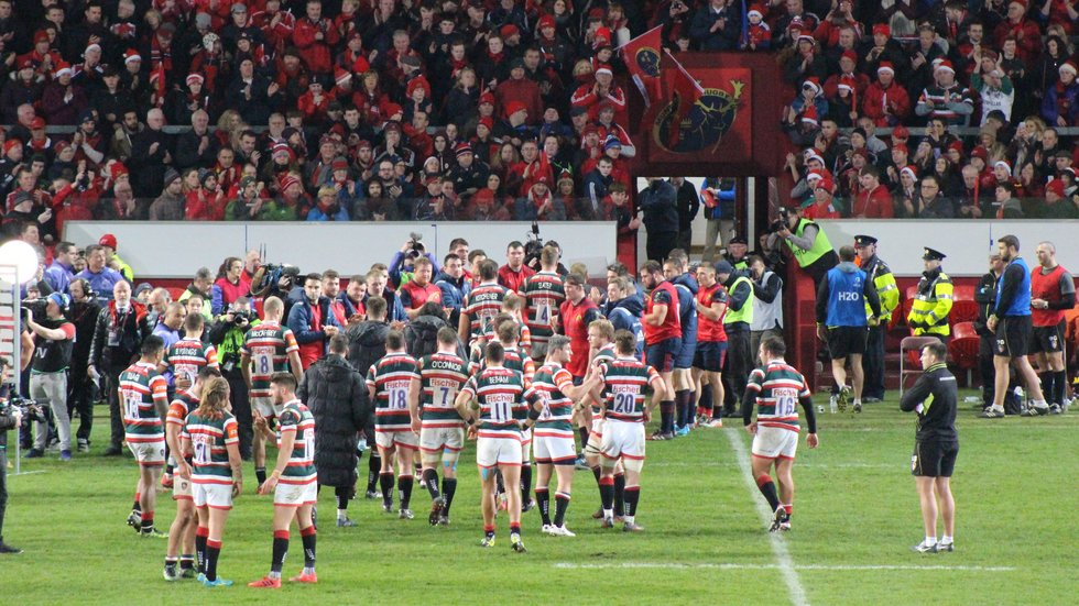 The challenging run continues with another trip to Thomond Park in Limerick