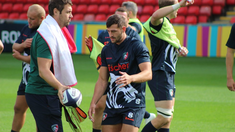 Jonny May will make his first appearance as a Tigers player on Friday