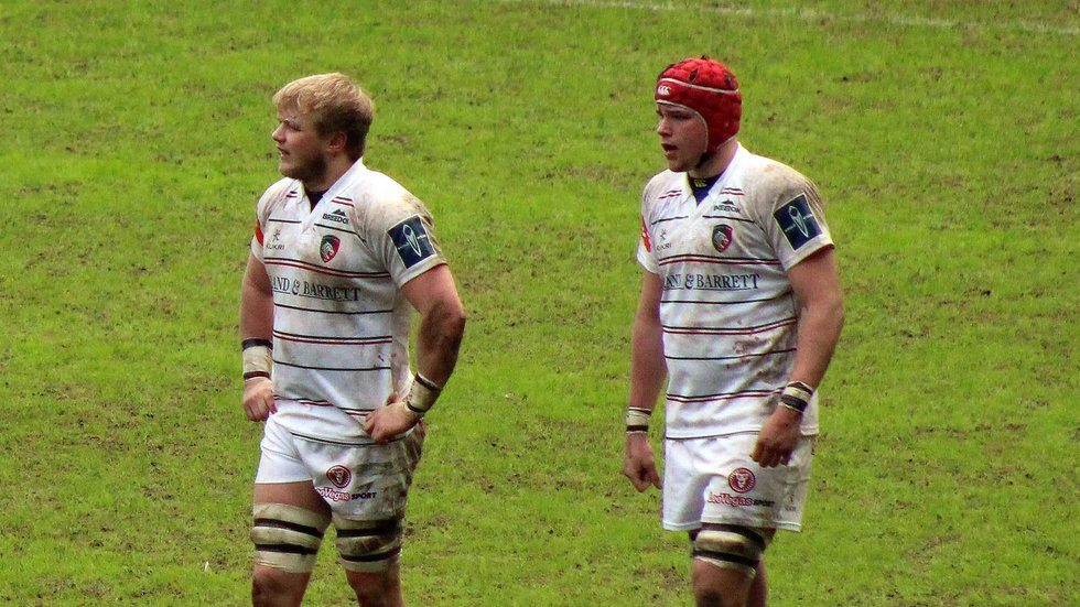 Cameron Jordan (r) made his Tigers debut against Wasps