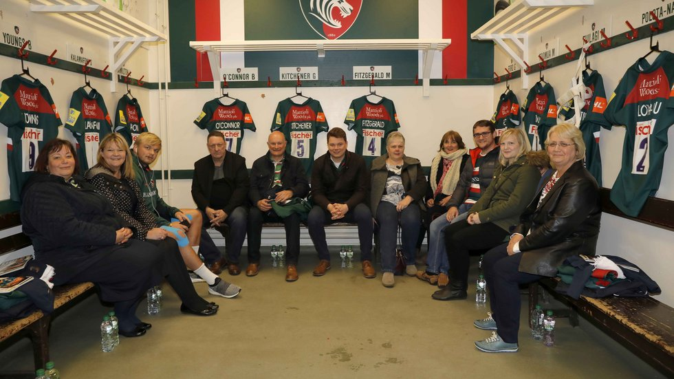Leicester Tigers Changing Room