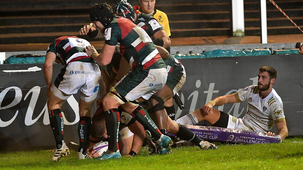 Wins over Brive and Bayonne gave Tigers a sound start to the European season
