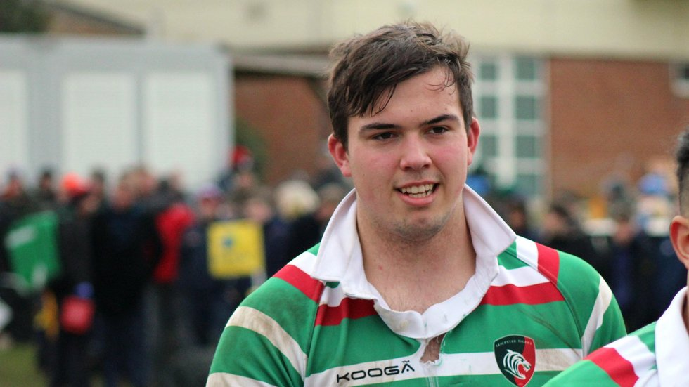James Whitcombe has been named in the England U18s team for their tour opener