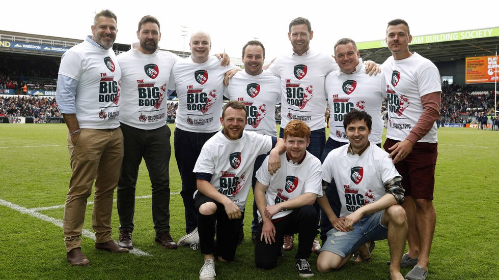 March Bears RFC took two of their ten catches on the Welford Road pitch.