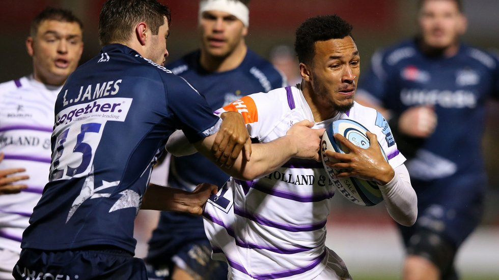 Jordan Olowofela returns to the Tigerws line-up for the game at Sale on Friday