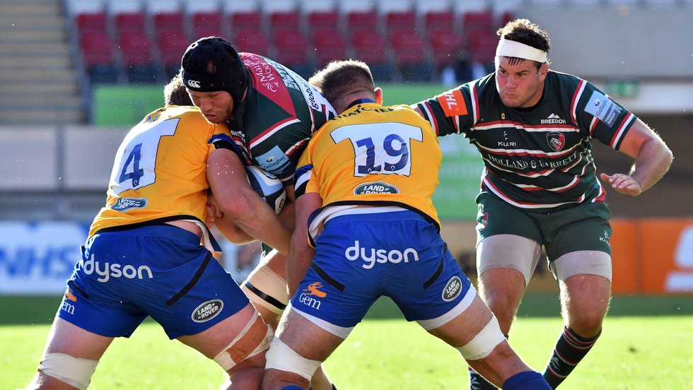 Blake Enever returns to the second row as Tigers go to Gloucester this weekend